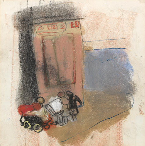 JOAN EARDLEY, Children With Pram