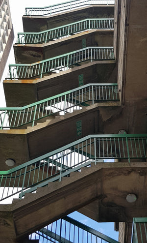 Middlesex St Staircases