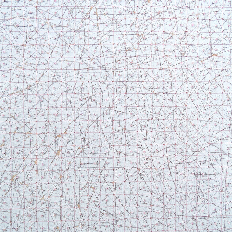 HILARY ELLIS - Pink Grid (SOLD)