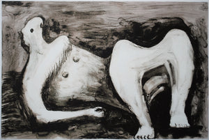 Reclining Figure Arched Leg