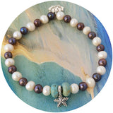 Pearl and Starfish Bracelet