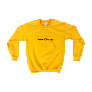 Yellow Pineapple Gang Crewneck