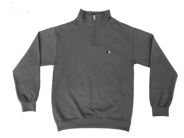 Charcoal Gray KITC Winter Quarterzip