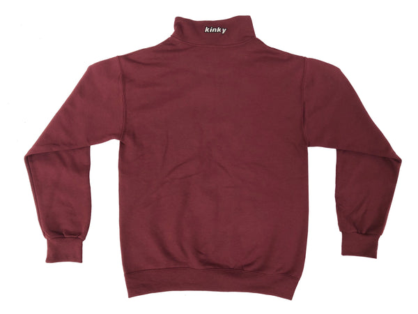Maroon KITC Winter Quarterzip