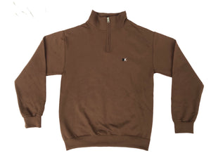 Chocolate KITC Winter Quarterzip