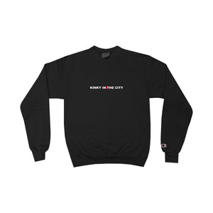 Black Kinky Champion Eco Crewneck