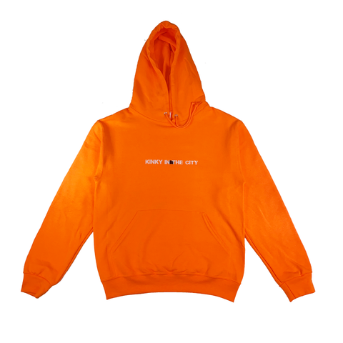 Orange Original Kinky Hoodie