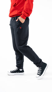 Black Essential Sweatpants