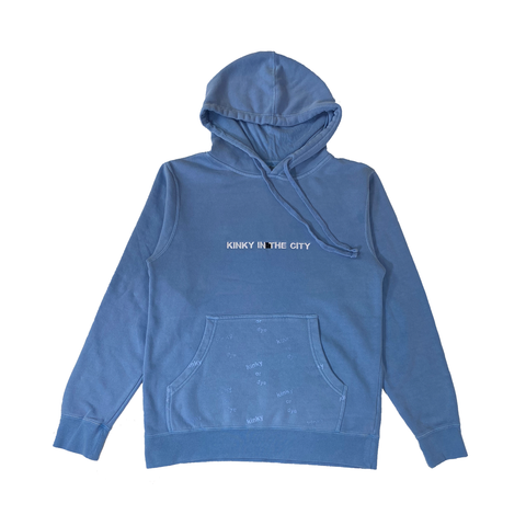 Blue Berry Dyed Hoodie