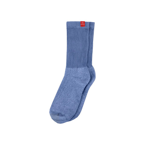 Ice Blue Kinky or Dye Socks
