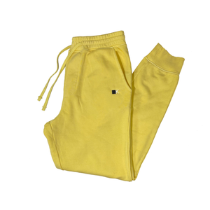 Lemon Yellow Dyed Joggers