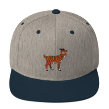 Load image into Gallery viewer, Tiger Goat - Flatbill Snapback