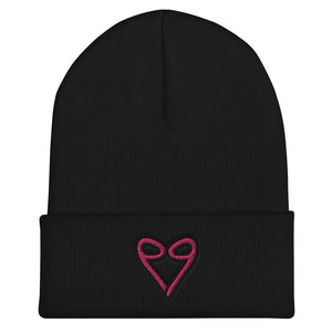 Heart of 9's - Cuffed Beanie