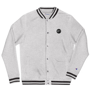 Circle 9 - Embroidered Champion Bomber Jacket
