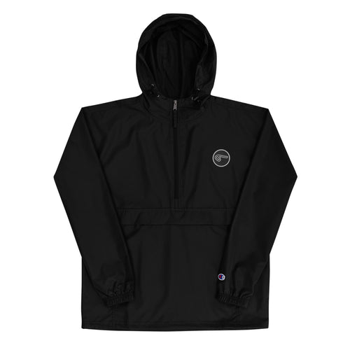 Circle 9 - Embroidered Champion Packable Jacket