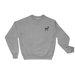 Trademark Tiger Goat - Champion Sweatshirt