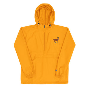 Tiger Goat - Embroidered Champion Packable Jacket
