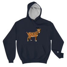 Load image into Gallery viewer, Tiger Goat - Champion Hoodie