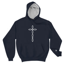 Load image into Gallery viewer, Ichthys Cross - Champion Hoodie