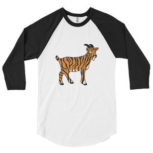 Tiger Goat - 3/4 sleeve raglan shirt