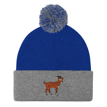 Load image into Gallery viewer, Tiger Goat - Pom-Pom Beanie