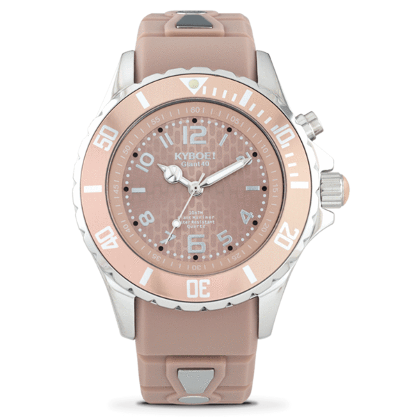 KYBOE! 40 mm Warm Taupe Watch