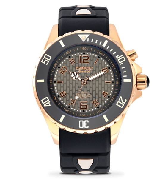 KYBOE! 40 mm Rose Gold Night Watch