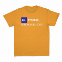 The Bullens Road Everton GPS Tee