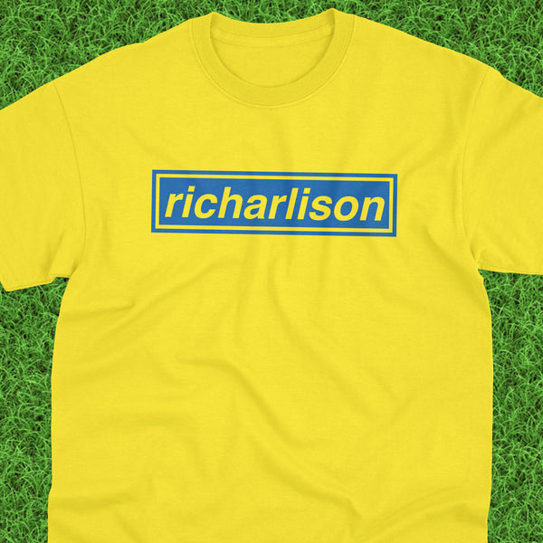 RA30 Richarlison Blue Logo Tee