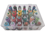 Clear Thread Storage (30 spools) ~ AVAILABLE JUNE 1, 2019