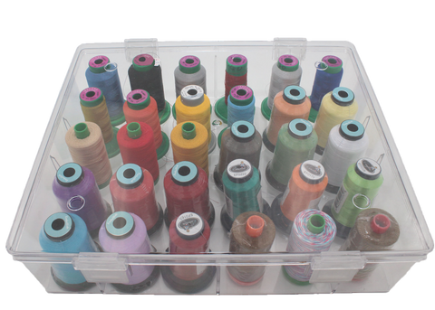 Clear Thread Storage (30 spools) ~ AVAILABLE JANUARY 31, 2020