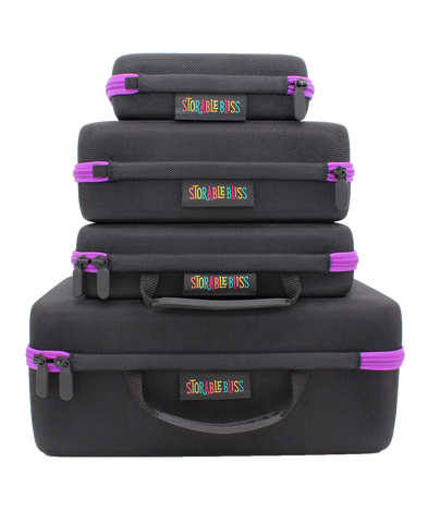 Hard Core Storage Set with 3-Foam Foot + Accessory Case