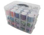 Large Clear Thread Storage (3 layers + lid)