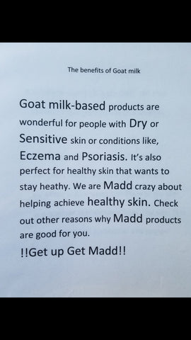 Goat milk benefits