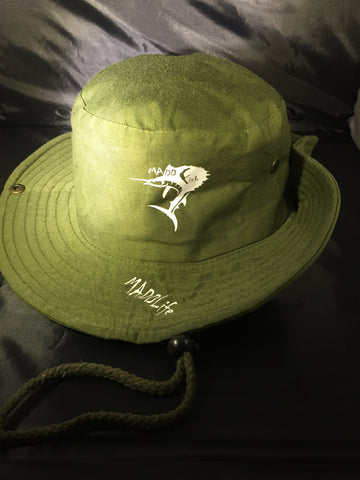 Green Fishing Hat (1)