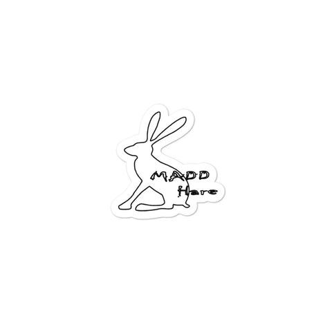 Madd Hare Bubble-Free Stickers