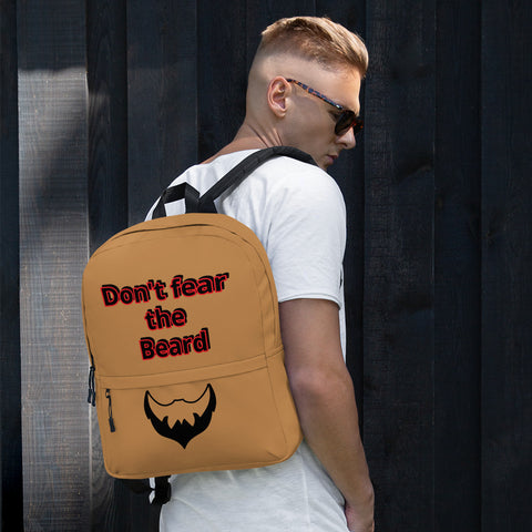 Don't Fear the BEARD Backpack