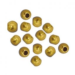 French Brass Beads 4 mm