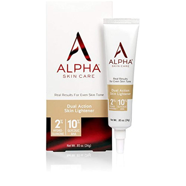 Alpha Skin Care - Dual Action Skin Lightener, 2% Hydroquinone