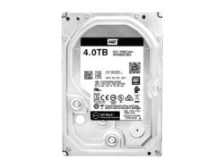 WD Black 4TB 3.5 SATA 256MB