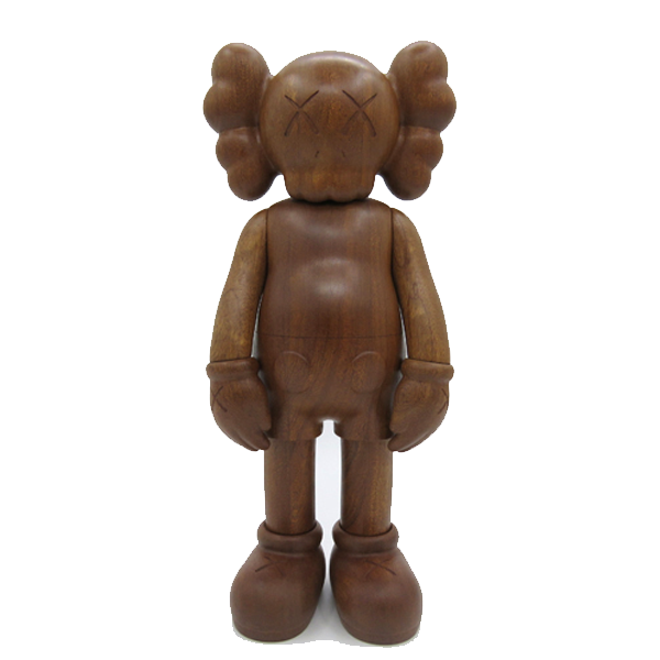 KAWS Wood Sculpture