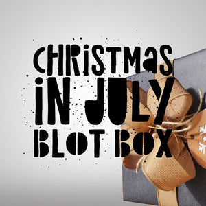 Christmas in July Blot Box