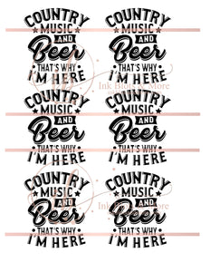 Country Music & Beer