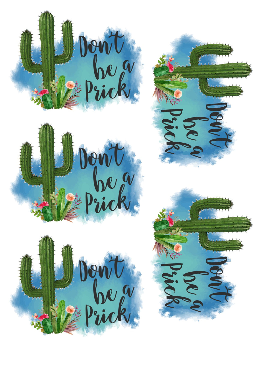 Don't Be a Prick II