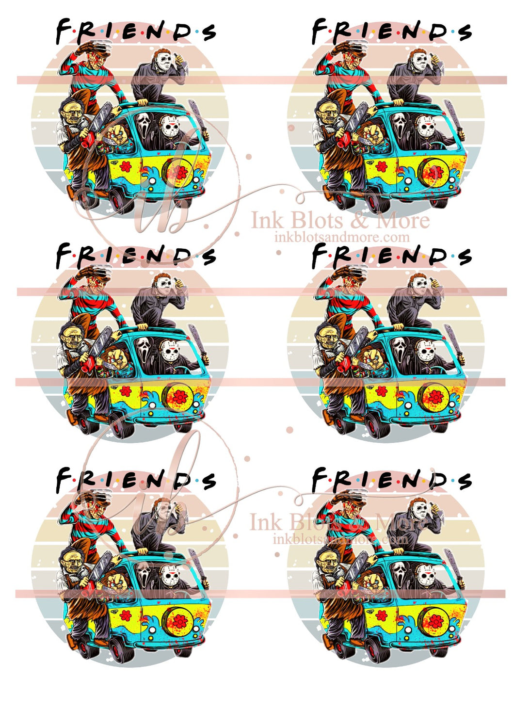 Friends Scooby Van