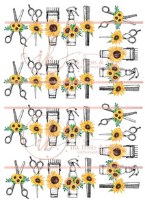 Hair Dresser Sunflowers