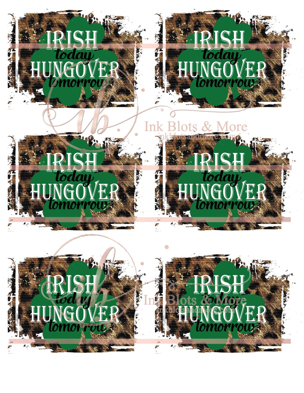 Irish Hangover