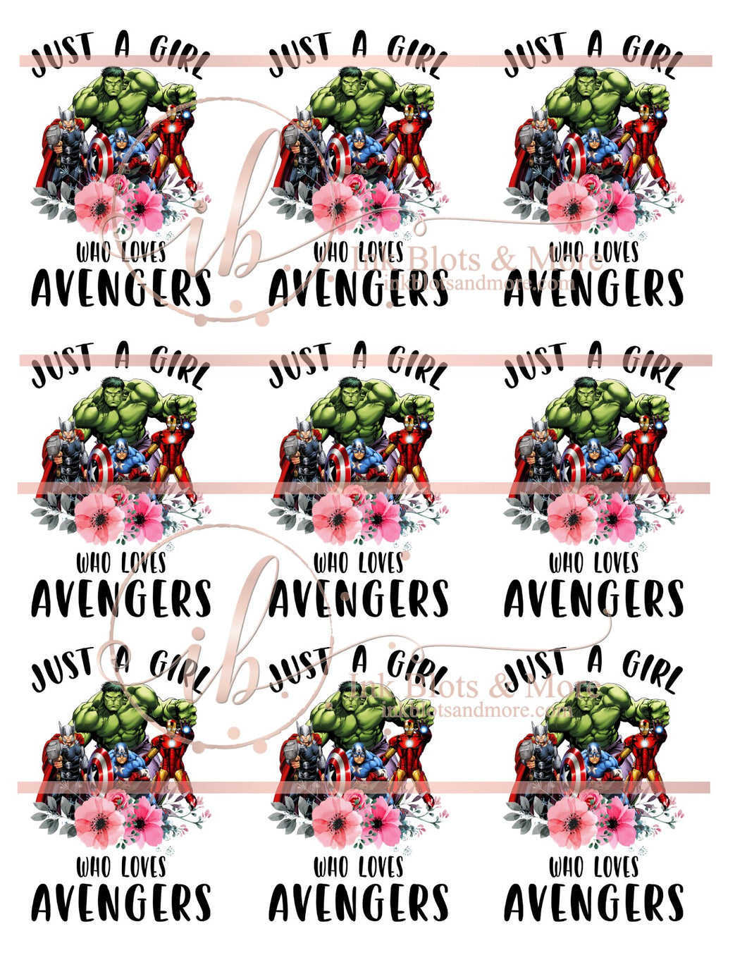 Just a Girl Who Loves Avengers