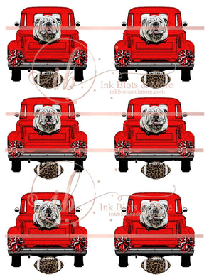 Red Bulldog Truck