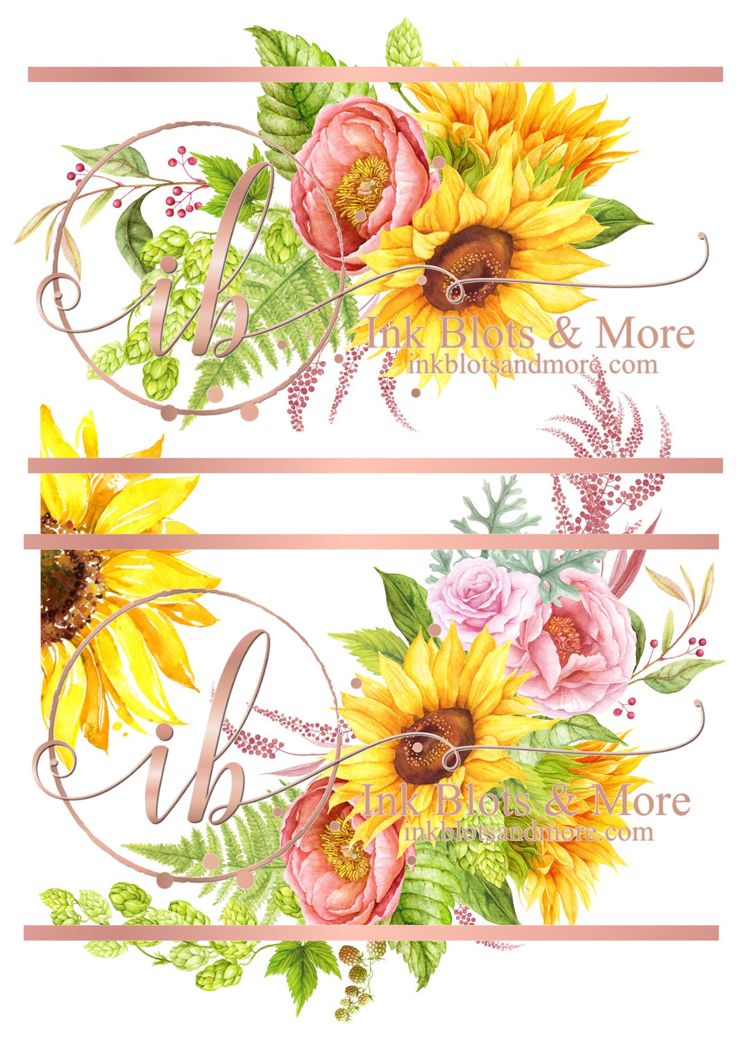 Sunflowers & Roses- Large